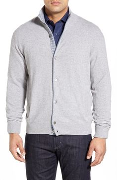 Morgano Standard Fit Wool & Cashmere Cardigan