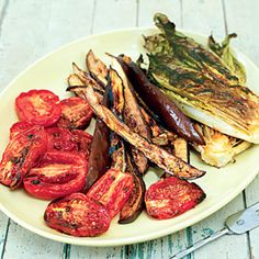 Grilled-Eggplant Salad | MyRecipes.com