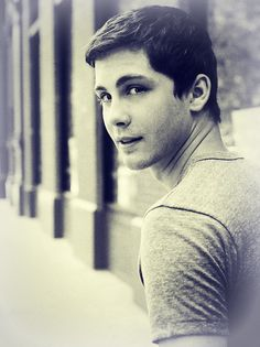 Logan Lerman because seeing him always makes my day better :))