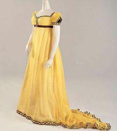 Evening dress 1800-05,  England
