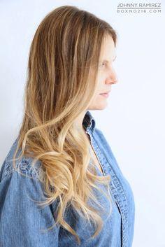 A Day at the Salon in NYC Box No. 216 Color By Johnny Ramirez 310.724.8167 info@ramireztran.com   #bestsalon #hair #beverlyhills #johnnyramirezhaircolor #blonde #highlights