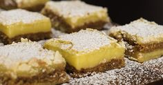 Margarita Bars - This south-of-the-border twist on classic lemon bars always hits the spot!