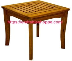 Outdoor End Tables, Wood End Tables, End Tables With Storage, Black End Tables, Nesting End Tables, Table Dimensions, Storage Drawers, Teak