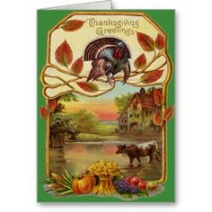 Shop Vintage Thanksgiving Greetings created by tyraobryant. Personalize it with photos & text or purchase as is! Thanksgiving Graphics, Thanksgiving Greeting Cards, Thanksgiving Pictures, Vintage Thanksgiving, Thanksgiving Traditions, Vintage Holiday, Happy Thanksgiving, Vintage Halloween, Fall Halloween