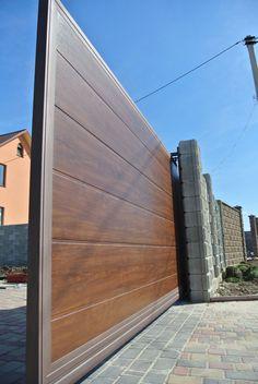 Home Gate Design, House Main Gates Design, House Fence Design, Fence Gate Design, Steel Gate Design, Front Gate Design, Main Door Design, Home Building Design, Modern Main Gate Designs