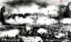 Fotos de , , México: Ataque francés al fuerte de San Javier (Puebla, 1863)