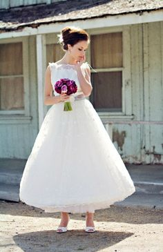 If I was a younger bride, or a skinnier bride, or getting married on a beach...