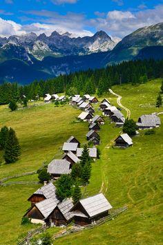 Alpine pasture Zajamniki by Gregor Skoberne (Slovenia) Beautiful Vacation Spots, Beautiful Places, Places To Travel, Places To Visit, Slovenia Travel, Bohinj, Julian Alps, Seen, Adventure Is Out There