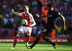 Emre Can in action against Arsenal on the opening weekend