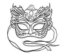 Pictures Mardi Gras Coloring Pages