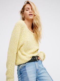 Electric City Pullover   An essential for the season, this so cute and ultra comfy pullover features a simple two tone design and an easy fit.