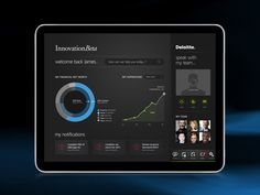 Deloitte iPad application design