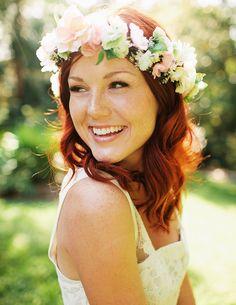 Flower headband; DIY or buy one already made  'SaferBrandSummer'