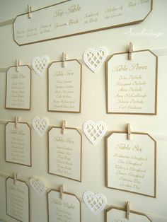 Wedding Table Plan by www.facebook.com/sarahndesign.studio