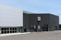 Porsche Dealership, Oakville, ON - Agway Metals Inc.