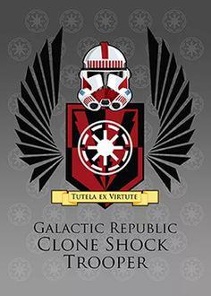Star Wars: Clone Shock Trooper Coat of Arms