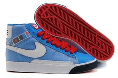 Nike DUNKSB Homme Bleu blanc rouge