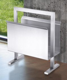 Atacio Magazine Rack---Modern decor ideas- by lifestyle expert Staci Krell
