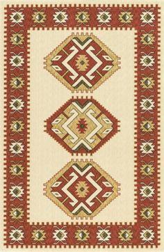 Antik figürlü el dokuma kilim modeli