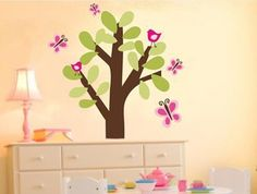 Rosenberry Rooms is offering a 10% discount on your purchase of $350 or more.  Share the news and take advantage of the savings! Butterfly Tree Fabric Wall Decal #rosenberryrooms