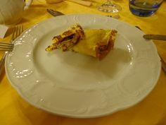 Crêpes with porcini @ Ristorante Madonna della Neve