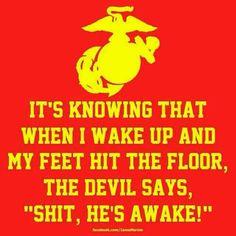 USMC OOHRAHH!!!! :)) hahha