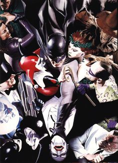 Batman and his Villains by Alex Ross