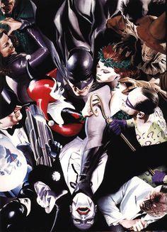 Batman and his Villains by Alex Ross
