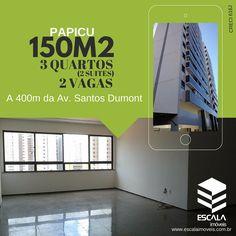 AP0582  EDIFÍCIO DR. MELLO  Amplo apartamento á venda no Papicu, a poucos metros da Av. Santos Dumont em Fortaleza. Aceita financiamento bancário. R$ 340.000,00  (85)3224 1700 (85)99991 2788 - whatsapp contato@escalaimoveis.com.br