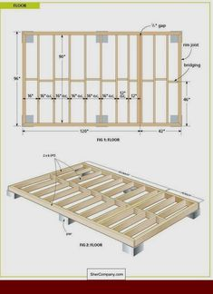 Build ANY Shed In A Weekend - Free Wood Cabin Plans - Free step by step shed plans Our plans include complete step-by-step details. If you are a first time builder trying to figure out how to build a shed, you are in the right place! Wood Shed Plans, Free Shed Plans, Storage Shed Plans, Deck Plans, Workshop Storage, Garage Plans, Framing Construction, Wooden Hut, Cabin Floor Plans