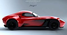 Does The Jannarelly Design-1 Roadster Look Even Better With A Roof? #Jannarelly
