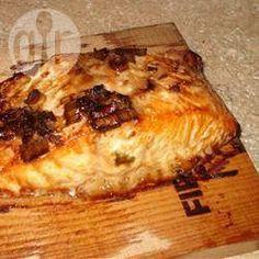 Photo recette : Saumon au barbecue a la plancha