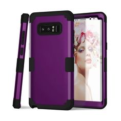 All function work well even your phone was in this case. Get the most luxurious phone case in the market with our leather wallet flip case! The phone case is crafted with exquisite quality and taste. Samsung Galaxy Note 8, Purple And Black, Leather Wallet, Phone Cases, Ebay, Accessories, Leather Wallets, Phone Case, Jewelry Accessories