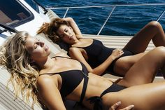 15 Photos from Our Day on a Yacht with Devin Brugman and Natasha Oakley