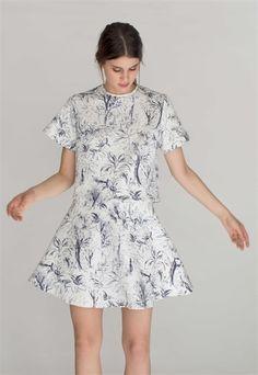 Lyndie Top & Skirt in Sketchy  http://relatedapparel.com/Lyndie-Top-Sketchy.aspx  http://relatedapparel.com/Lyndie-Skirt-Sketchy.aspx