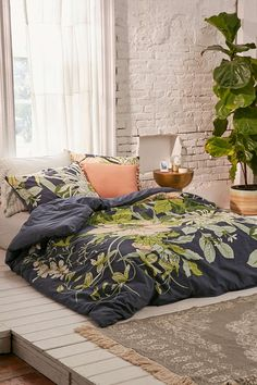Botanical Scarf Duvet Cover