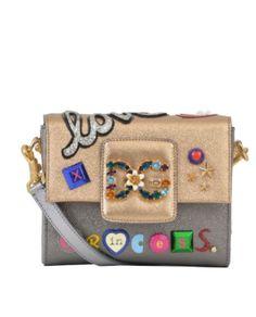 Dolce & Gabbana  ORO/RUTENIO  SHOULDER BAGS.