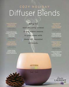 DoTerra diffuser blends