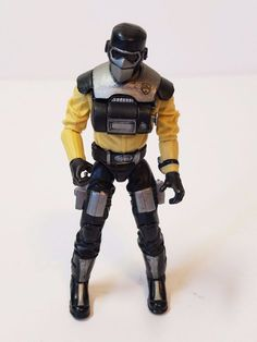 GI Joe Action Figure Rise of Cobra Toys R Us TRU Exclusive Barbecue Yellow Black…
