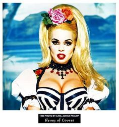 Imagen promocional de Michaela Dornonville de la Cour en 1993 por Carl-Johan Paulin