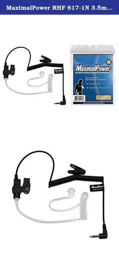 Surveillance Security Acoustic Tube Ear Bud Walkie Talkie Earphone Earpiece ES