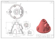 icu ~ Pin on MechanicalCad design ~ - Solidworks model 0010 in 2020 Mechanical Engineering Design, Mechanical Design, Geometric Drawing, Geometric Shapes, Sheet Metal Drawing, Autocad Isometric Drawing, Cad 3d, Solidworks Tutorial, Youtube Drawing