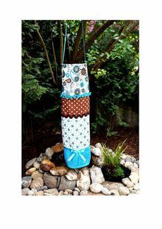 Windsack Windspiel Windsocke von  Feludara-Design -> http://de.dawanda.com/product/62991339-Windsack-Windspiel-Windsocke?utm_campaign=de-share_plugin&utm_medium=socialmedia&utm_source=pinterest&utm_term=pdp. Der Windsack wurde von mir entworfen/gefertigt und ist mit einer Tasche für eine batteriebetriebene Lichterkette versehen.