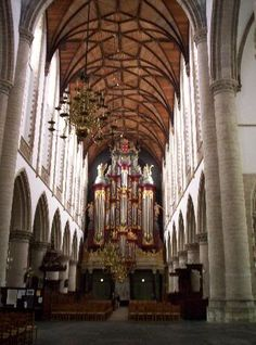 St. Bavos/ The Great Church - Haarlem, The Netherlands