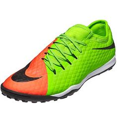 46a5b5e34d Nike HypervenomX Finale II TF (Electric Green Hyper Orange)