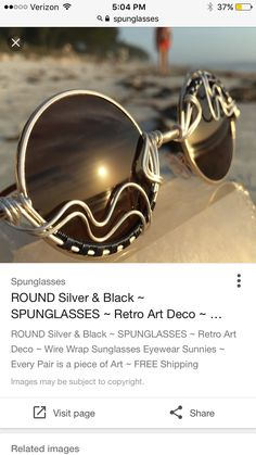 d0037f1aac22 22 Best wire wrapped sunglasses images