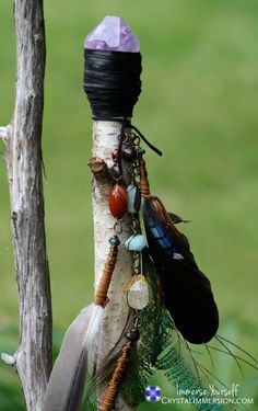 Shaman Staff - activate you intentions with the creation of your unique sacred object