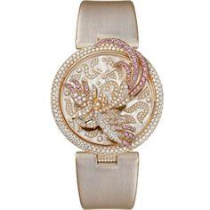 Le Cirque Animalier de Cartier watch, cockatiel decor Quartz