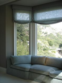 Bay window sofa by michaels upholstery corner sofa - Corner sofa in bay window ...