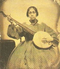 Creole Woman...would love to have heard her play the banjo.